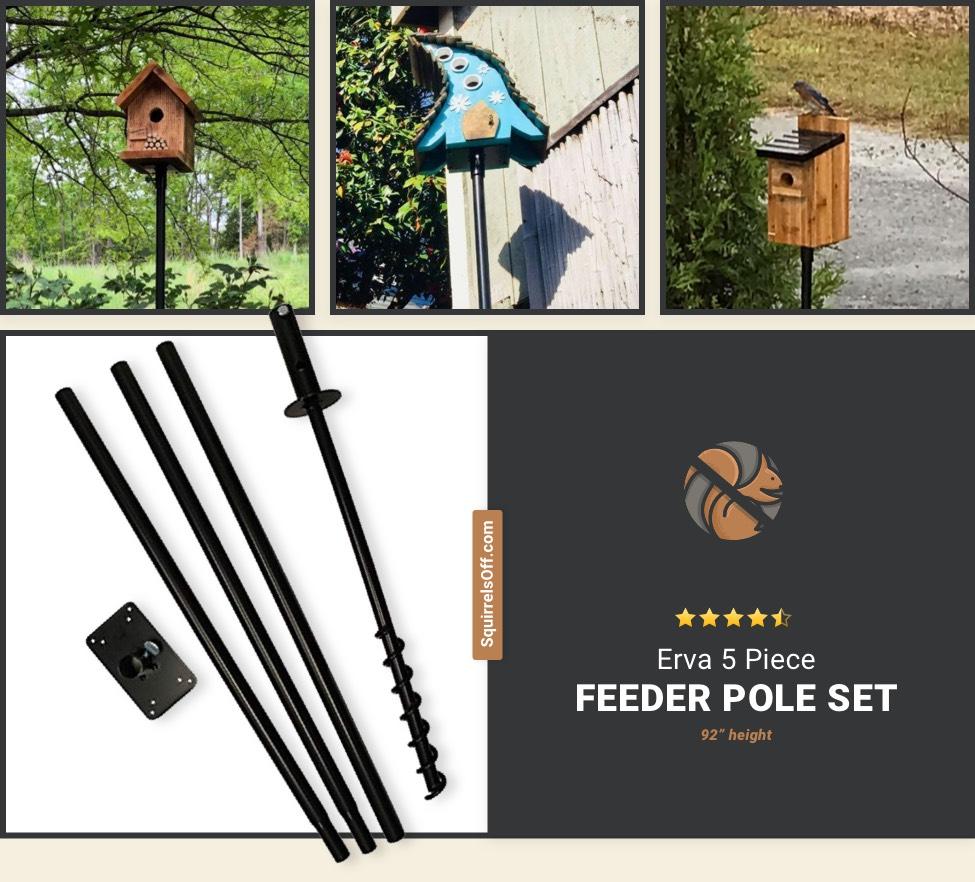 5 Piece Feeder Pole Set