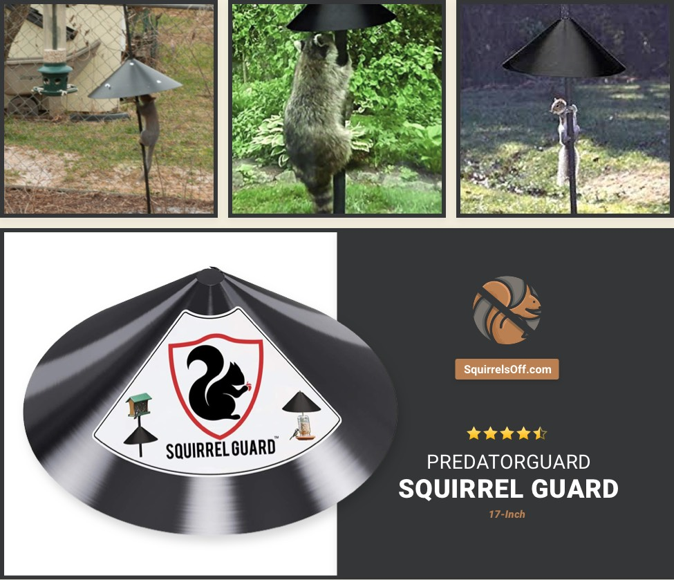 PREDATORGUARD Squirrel Guard Baffle