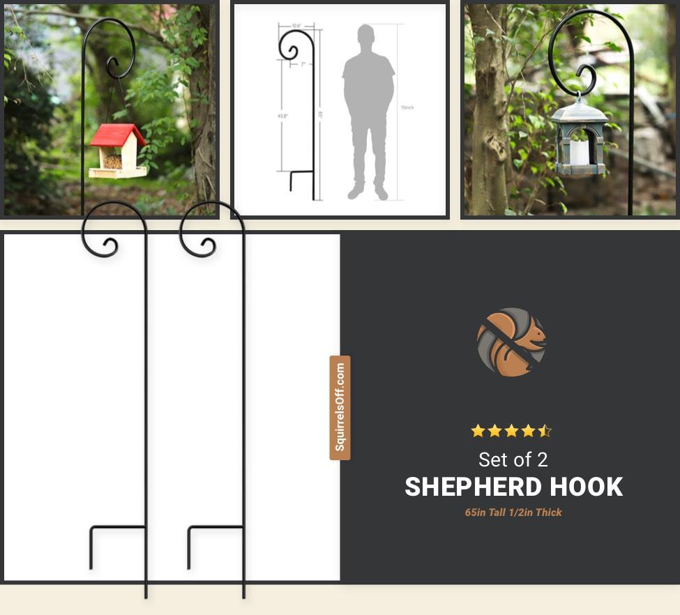 Set of 2 Shepherd Hook